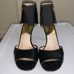 Micheal Khors black patent leather high heel